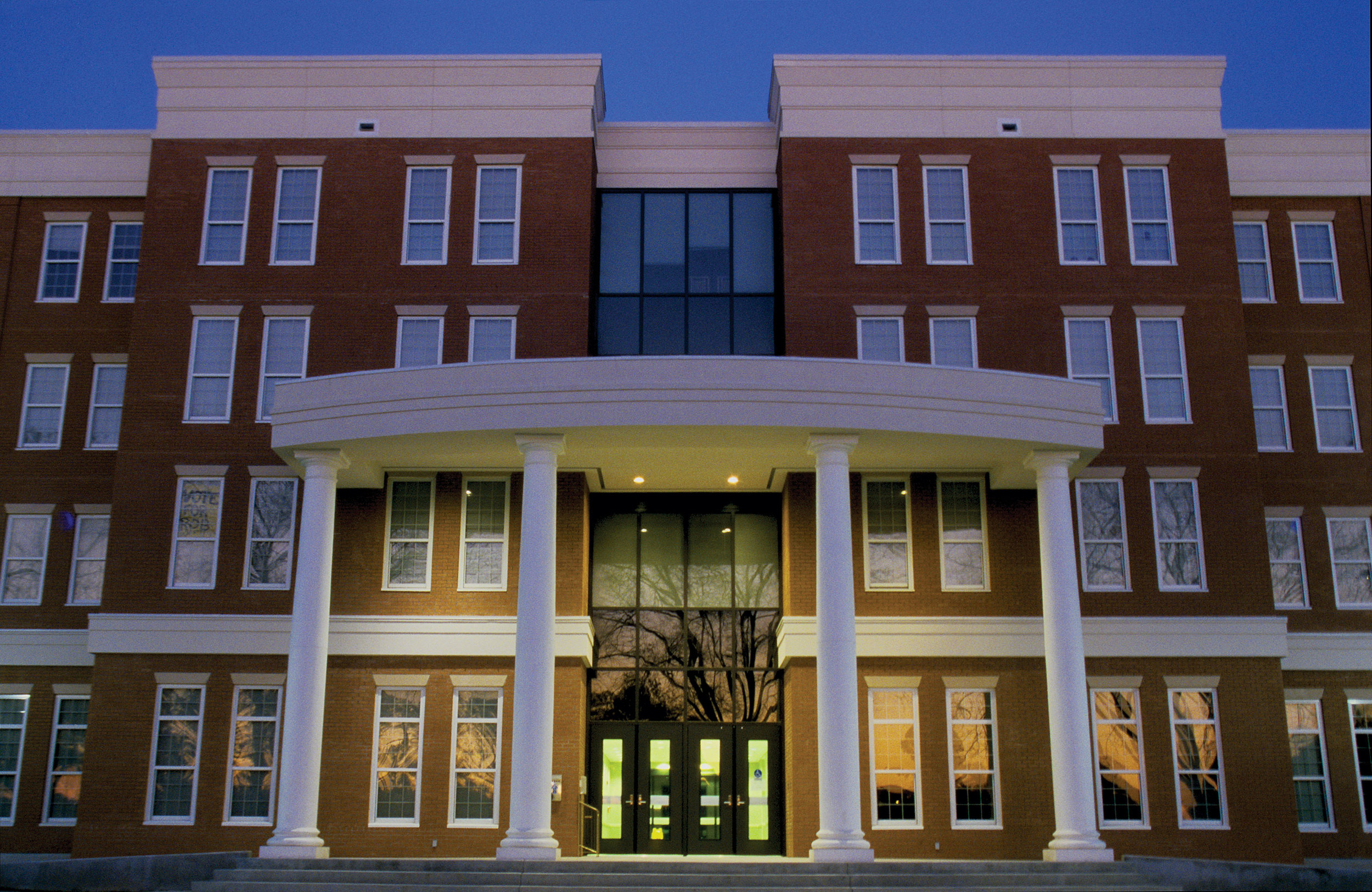 This is McCarty Hall.