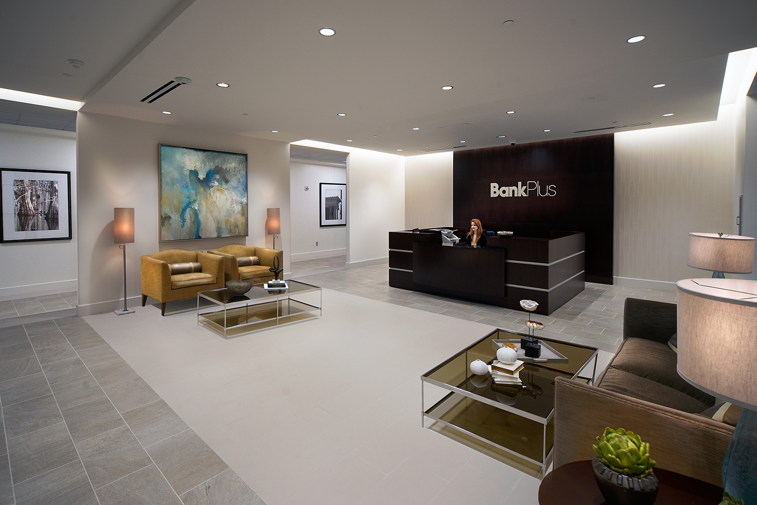 BankPlus, At The District Of Eastover, Interior Renovations | JBHM  Architecture