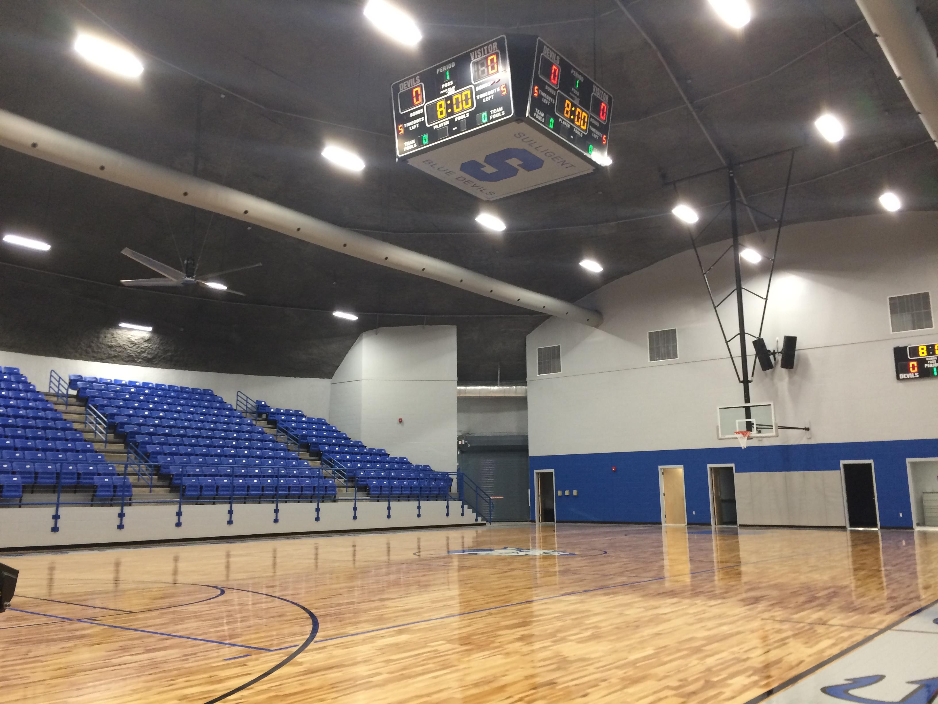 Lamar County Schools, Sulligent High, FEMA Shelter ...